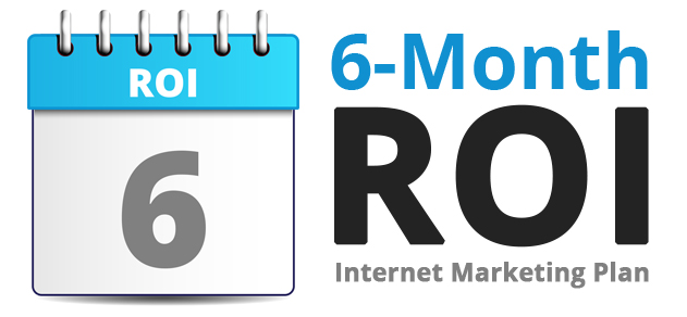 6 Month ROI logo 300 px with text color