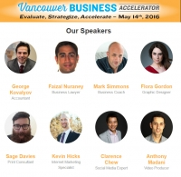 Vancouver Business Accelerator May 14th, 2016