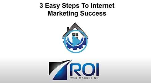 Video - 3 Easy Steps To Internet Marketing Success